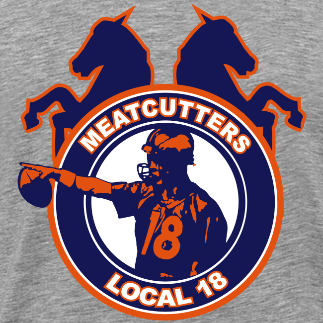 Meatcutters Local 18 - 3XL 4XL - Mens