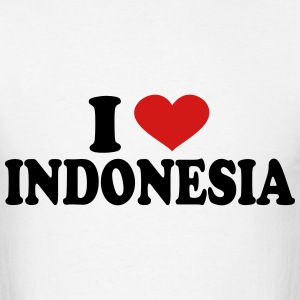 I Love Indonesia T-Shirts - Men's T-Shirt