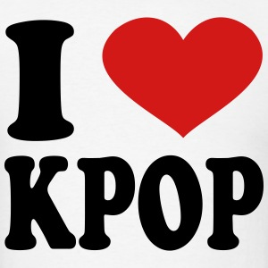 I Love Kpop T-Shirts - Men's T-Shirt