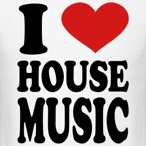 I Love House T Shirts Spreadshirt