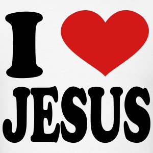 I Love Jesus T-Shirts - Men's T-Shirt