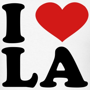 I Love LA T-Shirts - Men's T-Shirt