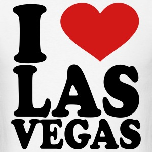 I Love Las Vegas T-Shirts - Men's T-Shirt