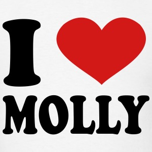 I Love Molly T-Shirts - Men's T-Shirt