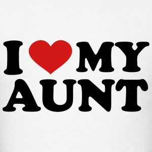 I Love My Aunt T-Shirts - Men's T-Shirt