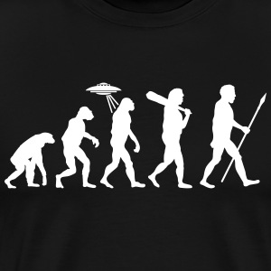 Alien Evolution (1 Color) T-Shirts - Men's Premium T-Shirt