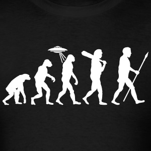 Alien Evolution (1 Color) T-Shirts - Men's T-Shirt