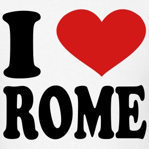 I Love rome T-Shirts - Men's T-Shirt