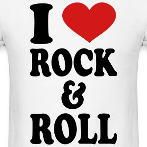 I Love rock and roll T-Shirts - Men's T-Shirt