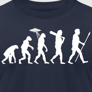 Alien Evolution (1 Color) T-Shirts - Men's T-Shirt by American Apparel