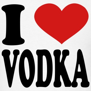 i love vodka T-Shirts - Men's T-Shirt