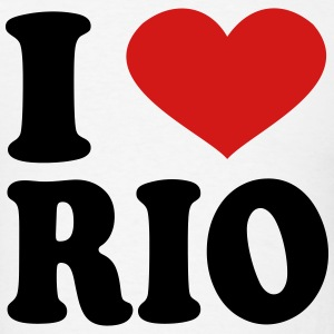 I Love rio T-Shirts - Men's T-Shirt