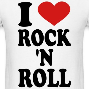 I Love rock n roll T-Shirts - Men's T-Shirt