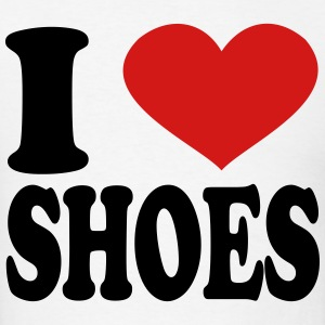 I Love shoes T-Shirts - Men's T-Shirt