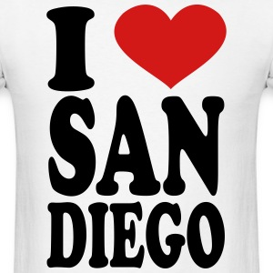 I Love san diego T-Shirts - Men's T-Shirt