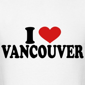 i love vancouver T-Shirts - Men's T-Shirt