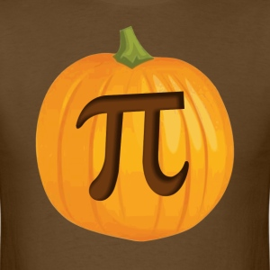 Halloween Pumpkin Pie Pi T-Shirts - Men's T-Shirt