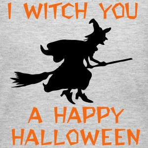 I Witch You A Happy Halloween. Happy Halloween Long Sleeve Shirts - Women's Long Sleeve Jersey T-Shirt