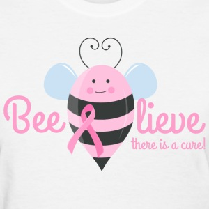 Beelieve In A Cure Women's T-Shirts - Women's T-Shirt