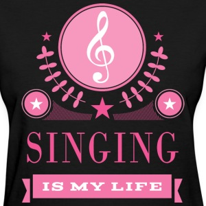 Cute Singing Singer Gift Women's T-Shirts - Women's T-Shirt