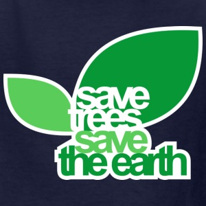 SAVE TREES SAVE THE EARTH Kid Standard T-shirt - Kids' T-Shirt