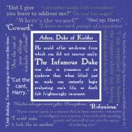Design ~ The Infamous Duke, bag