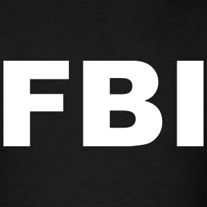 FBI T-Shirts - Men's T-Shirt
