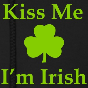 Kiss Me I'm irish Zip Hoodies & Jackets - Men's Zip Hoodie
