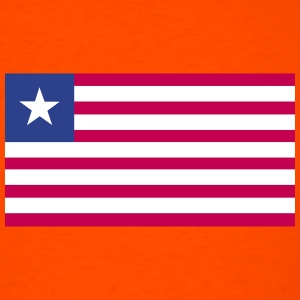 Flag of Liberia T-Shirts - Men's T-Shirt