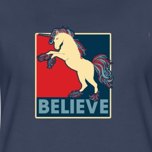 Believe in Unicorns - Women's Premium T-Shirt