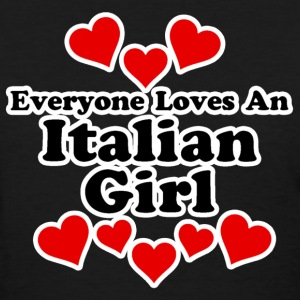 Everyone Loves An Italian Girl Women's T-Shirts - Women's T-Shirt