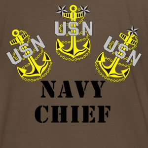 US Navy CPO Chief Petty Officer Shirt - Men's Premium T-Shirt