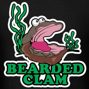 Bearded Clam T-Shirts - Men's T-Shirt