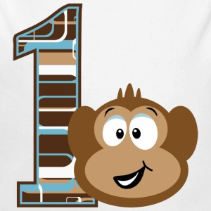 1st Birthday Monkey Baby & Toddler Shirts - Long Sleeve Baby Bodysuit