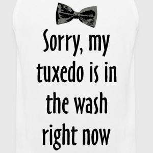 Tuxedo Wash Tank Top - Men's Premium Tank