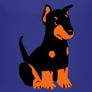 Doberman Puppy - Kids' Premium T-Shirt