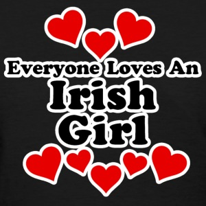 Everyone Loves An Irish Girl Women's T-Shirts - Women's T-Shirt