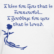 Design ~ A Kiss For You Women's Tee