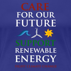 Care For Our Future  Women's T-Shirts - Women's Premium T-Shirt