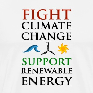 Fight Climate Change T-Shirts - Men's Premium T-Shirt