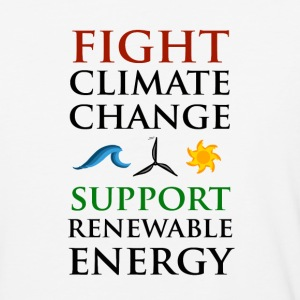 Fight Climate Change T-Shirts - Baseball T-Shirt