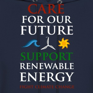 Care For Our Future  Hoodies - Men's Hoodie