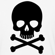 Pirate Skull - Trendy & Cool Skull T-Shirts