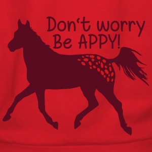 Don't worry, be APPY Hoodies - Women's Hoodie
