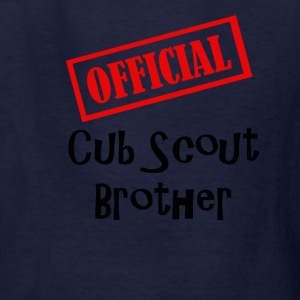 Official Cub Scout Brother Shirt - Kids' T-Shirt