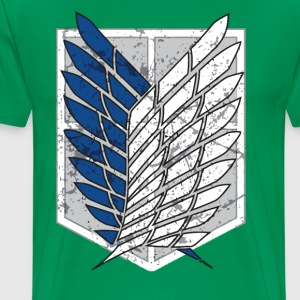 Attack On Titan T-Shirts - Men's Premium T-Shirt