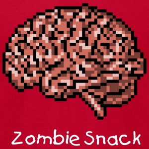 Zombie Snack - Men's T-Shirt by American Apparel