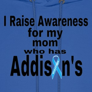 Raise Awareness for my mom with Addisons Hoodies - Men's Hoodie