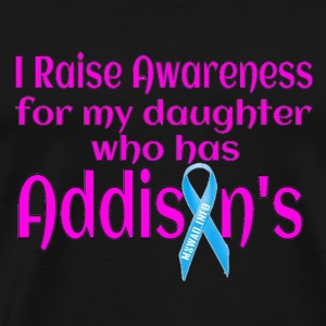 Support Daughter With Addisons T-Shirts - Men's Premium T-Shirt