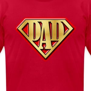 Super Dad - Men's T-Shirt by American Apparel